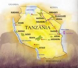 Safari-Tanzania-Zanzibar, 16.09-29.09.2017 (14dni)